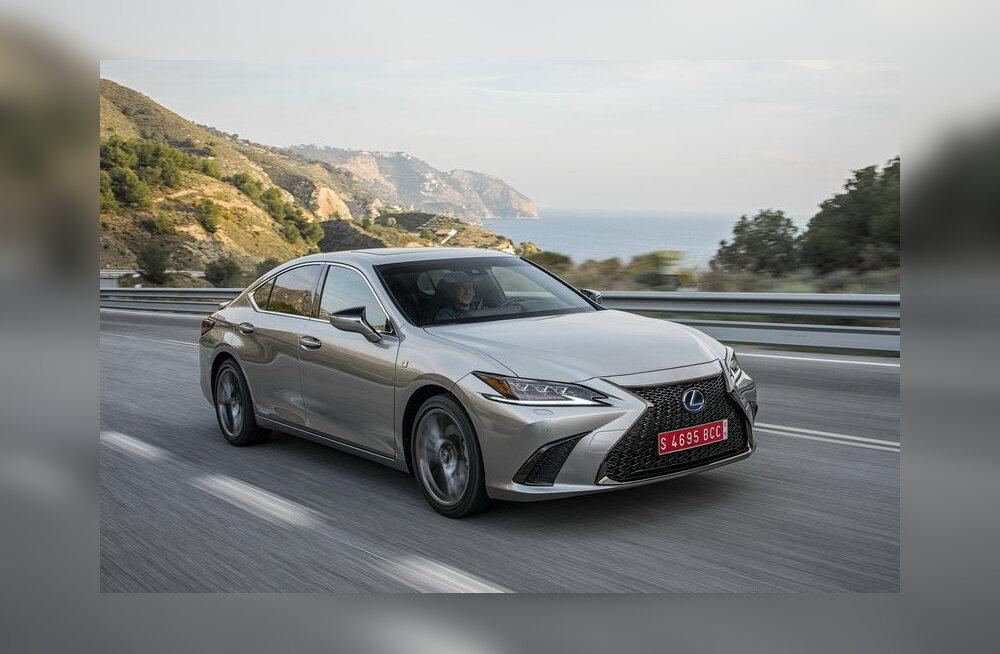 Proovisõit: Lexus ES ehk viis meetrit mugavust