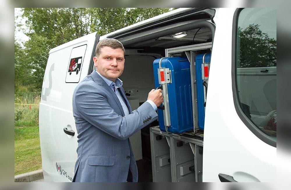 Руководители Центра наличных: в Эстонии нет смысла грабить инкассатора или взламывать банкомат