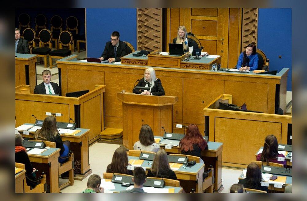 Riigikogu fraktsioonid valmistuvad riigikogu juhatuse valimisteks