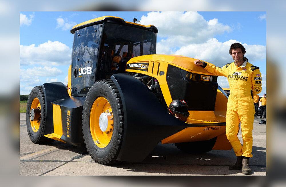 VIDEO | Vaata, kuidas kihutab värskelt tiitli välja teeninud maailma kiireim traktor