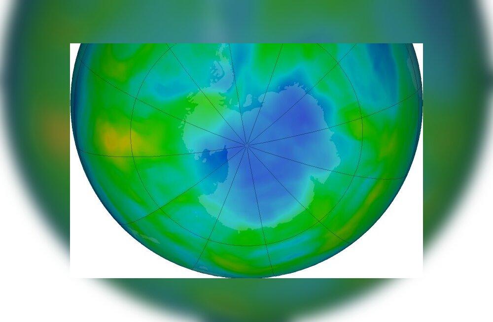 Keelatud kemikaal hävitab osoonikihti ja keegi ei tea, kust see tuleb
