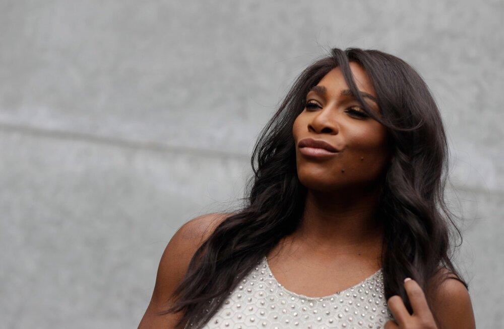 Serena Williams sai reedel tüdrukutirtsu emaks