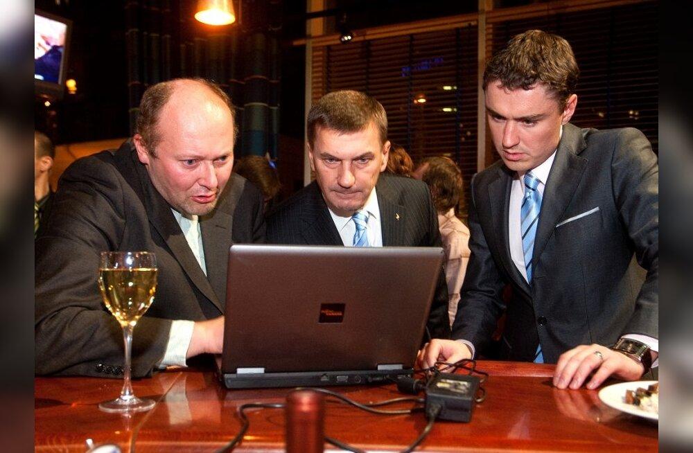 EMOR: Популярность Партии реформ в августе выросла на 2%