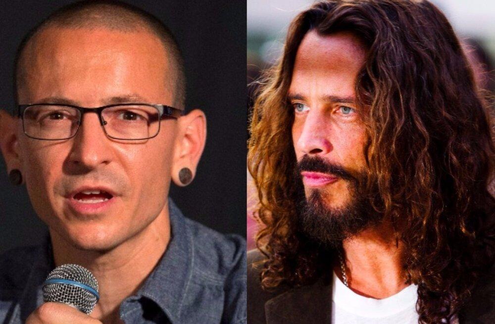 Linkin Parki laulja imiteeris oma sõbra surma? Politsei: Chester Benningtoni ja Chris Cornelli enesetapud olid peaagu identsed