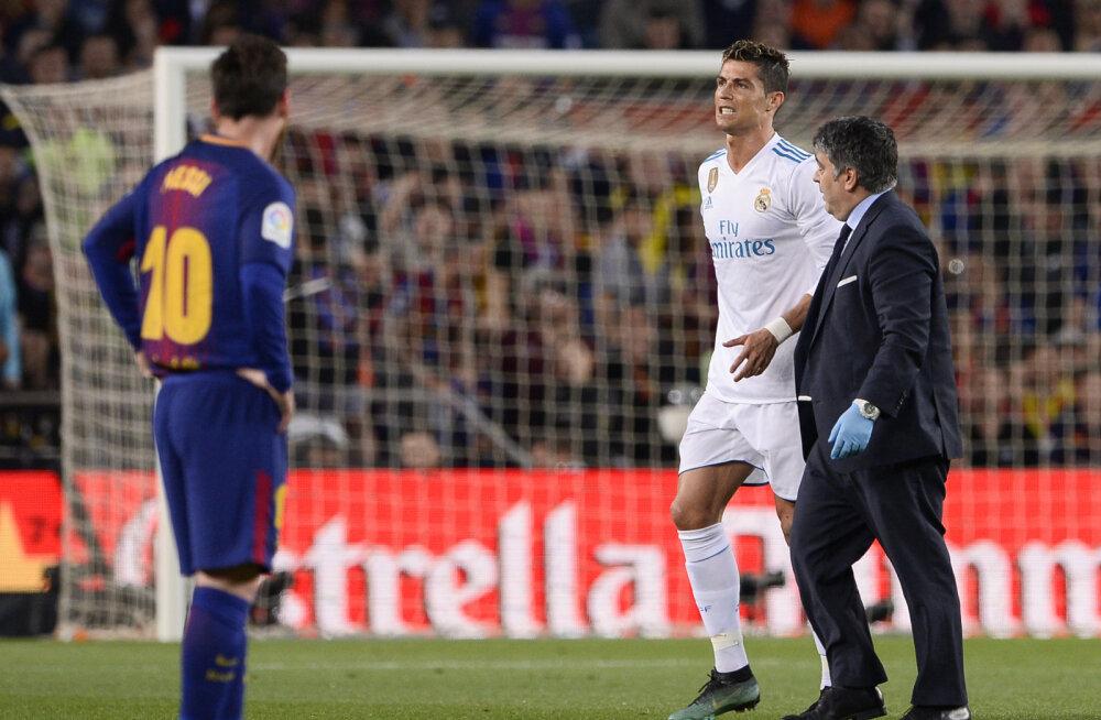Madrid närib küüsi: kui tõsiseks osutub Cristiano Ronaldo vigastus?