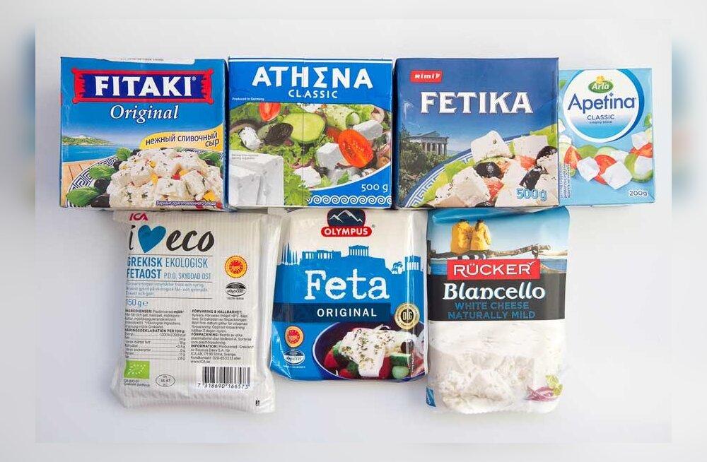 Есть ли в Эстонии настоящий сыр фета и что из продающегося максимально похоже на оригинал?