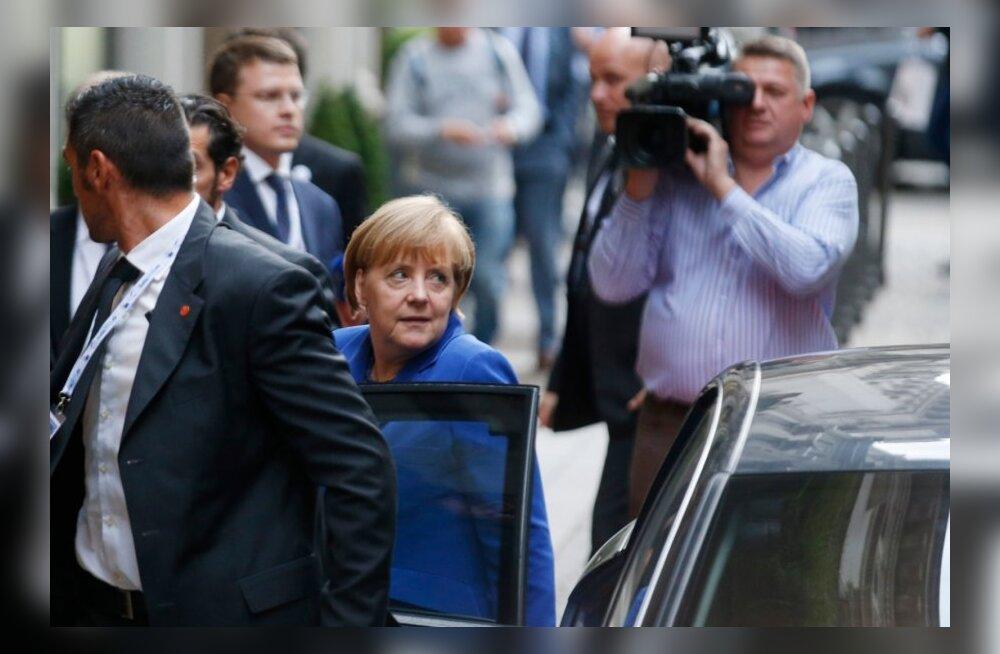 Putin ei jõudnud Belgradi paraadilt õigeks ajaks kohtumisele Merkeliga
