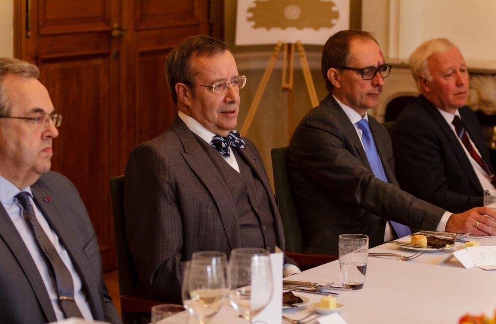 Vabariigi Presidendi Toomas Hendrik Ilvese ja Kaubanduskoja uue juhatuse lõuna