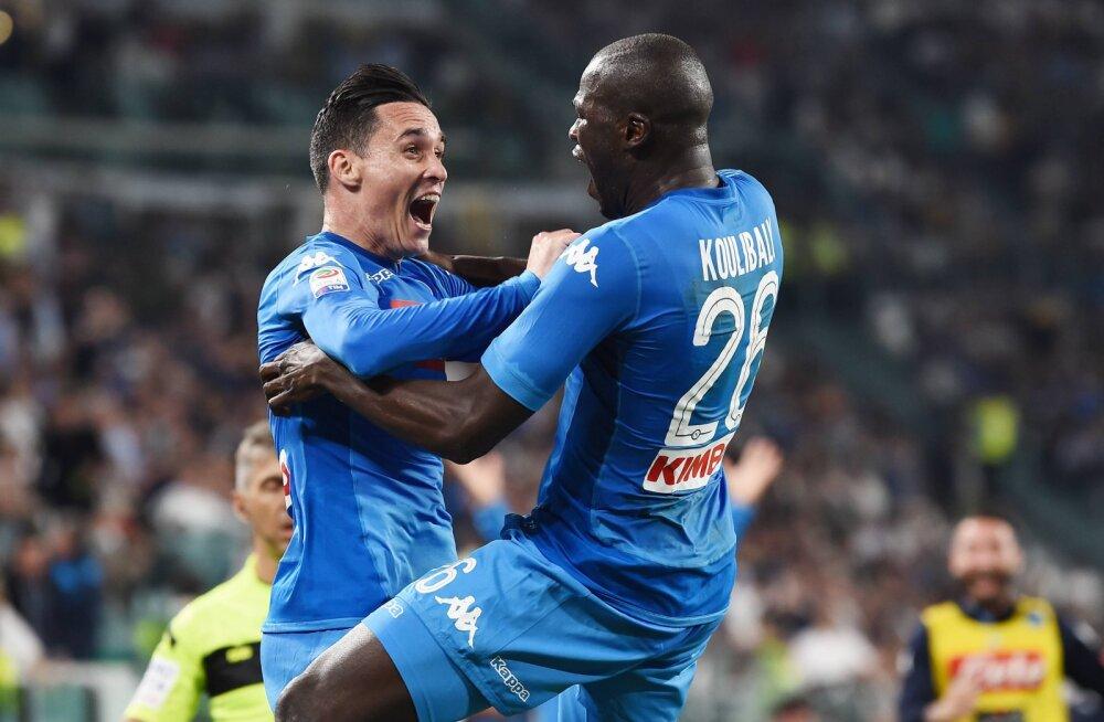 VIDEO | Itaalias jätkub ülipõnev tiitliheitlus: Napoli alistas Juventuse 90. minuti väravast