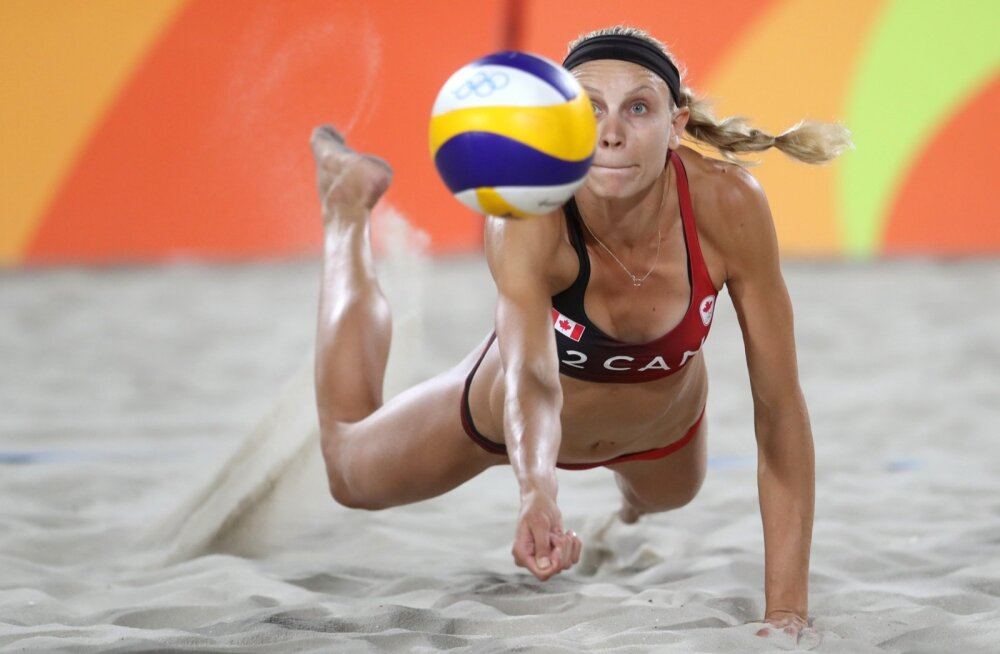 Kristina Väljas Rio olümpialiival