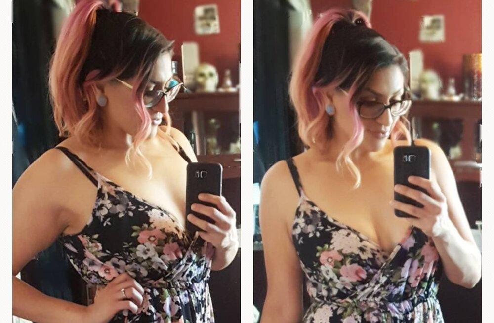 INSPIREERIVAD FOTOD | 114 kg kaalunud naine kaotas kolme aastaga ligi poole kehakaalust ja jagas oma teekonda nüüd ka teistega