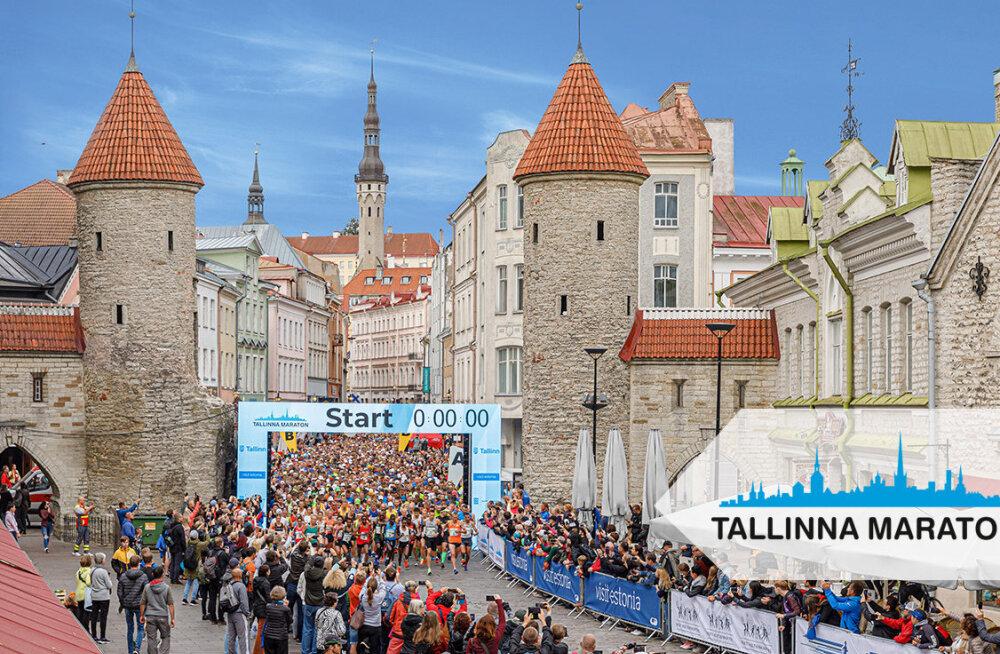 Täna algas registreerimine järgmise aasta Tallinna Maratonile ja Sügisjooksule, kohtade arv esmakordselt piiratud