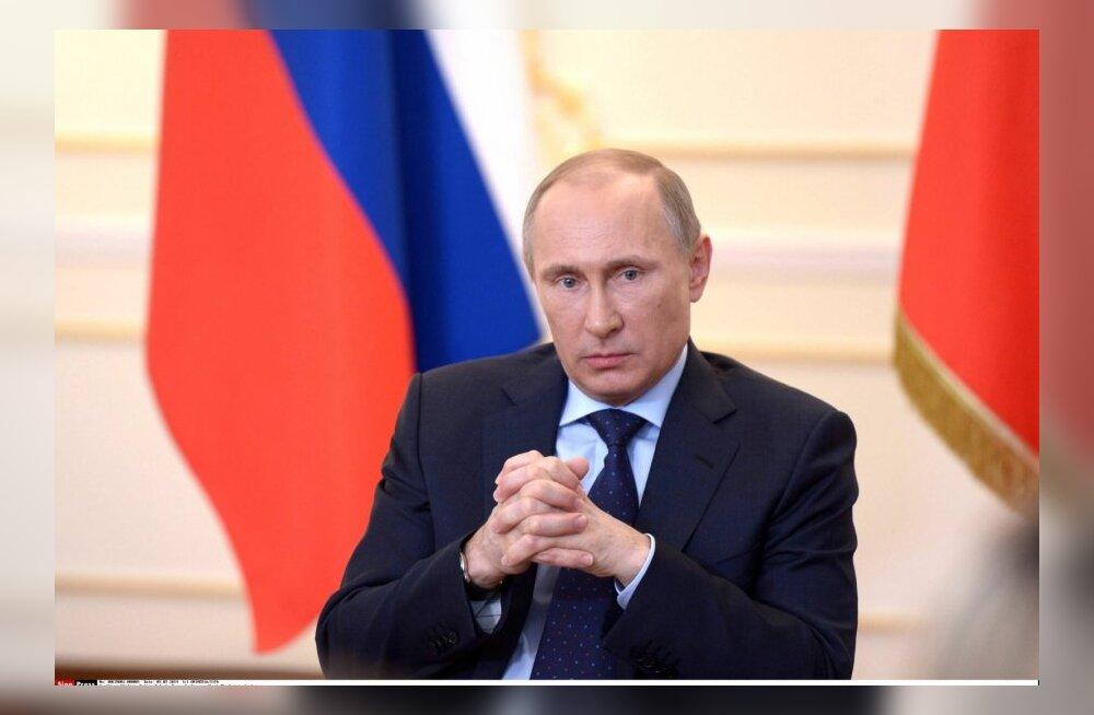 Putin on esitatud Nobeli rahupreemia kandidaadiks