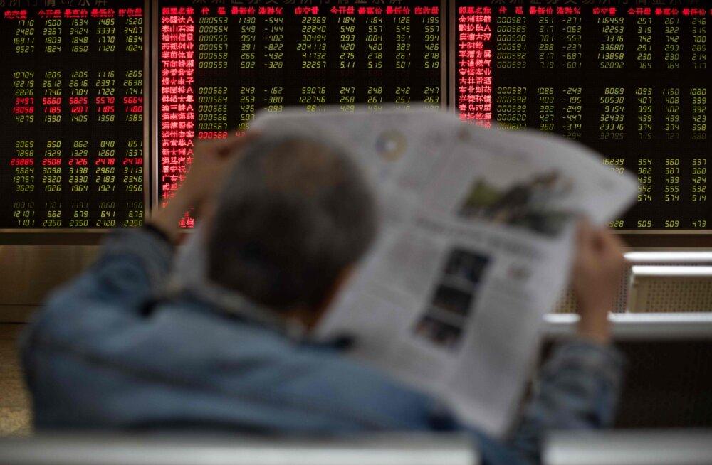 USAs jätkus börsisadu. Aasia kosus