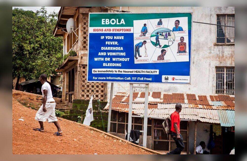 WHO kuulutas ebolapuhangu rahvusvaheliseks tervisealaseks hädaolukorraks