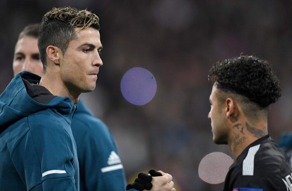 Cristiano Ronaldo ja Neymar