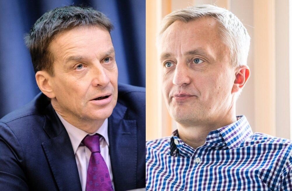 Ardo Hansson ja Indrek Neivelt