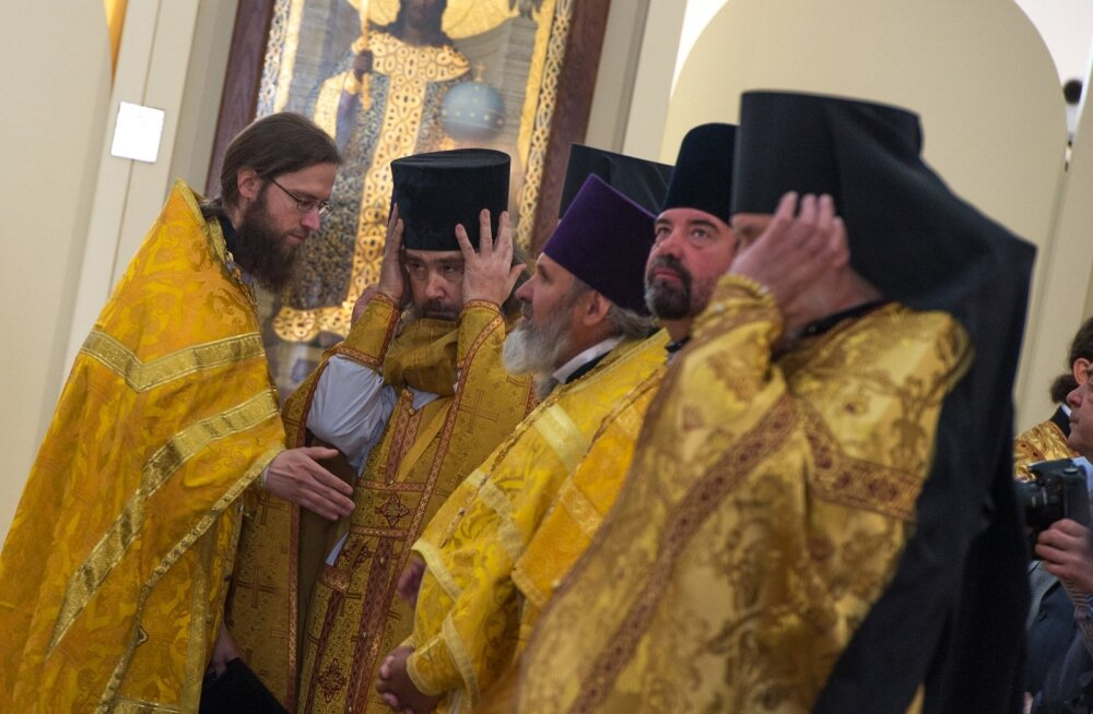 Patriarh Kirill Lasnamäe kirikus