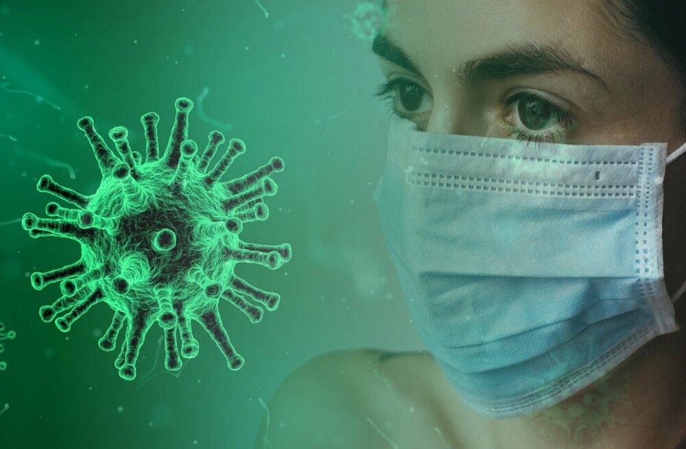 За сутки в Эстонии выявлено четыре инфицированных коронавирусом человека