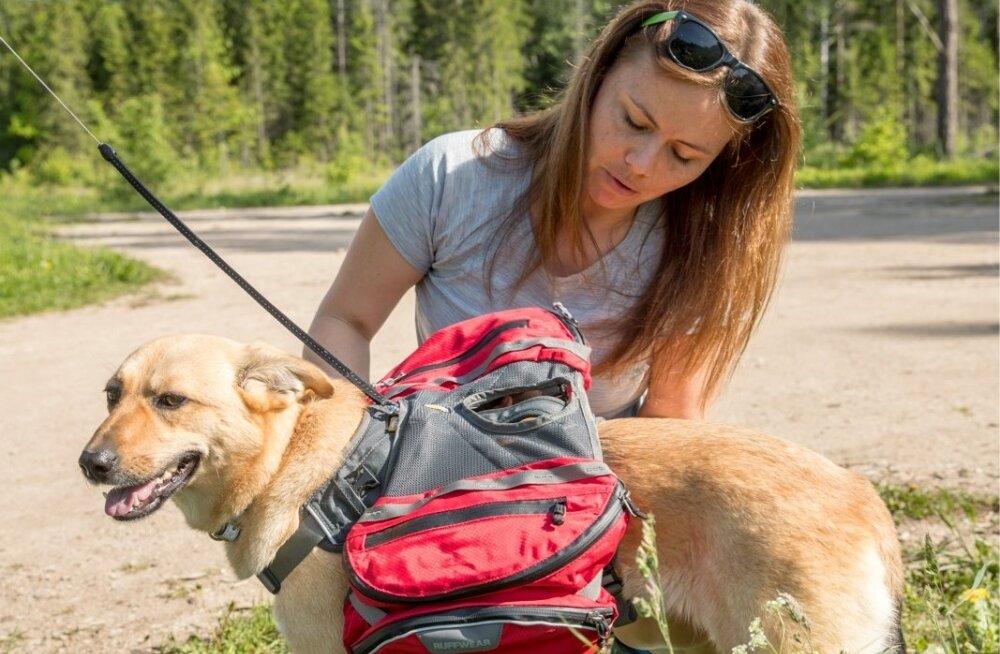 Maiu Lünekund ja Laura Mallene matkamas