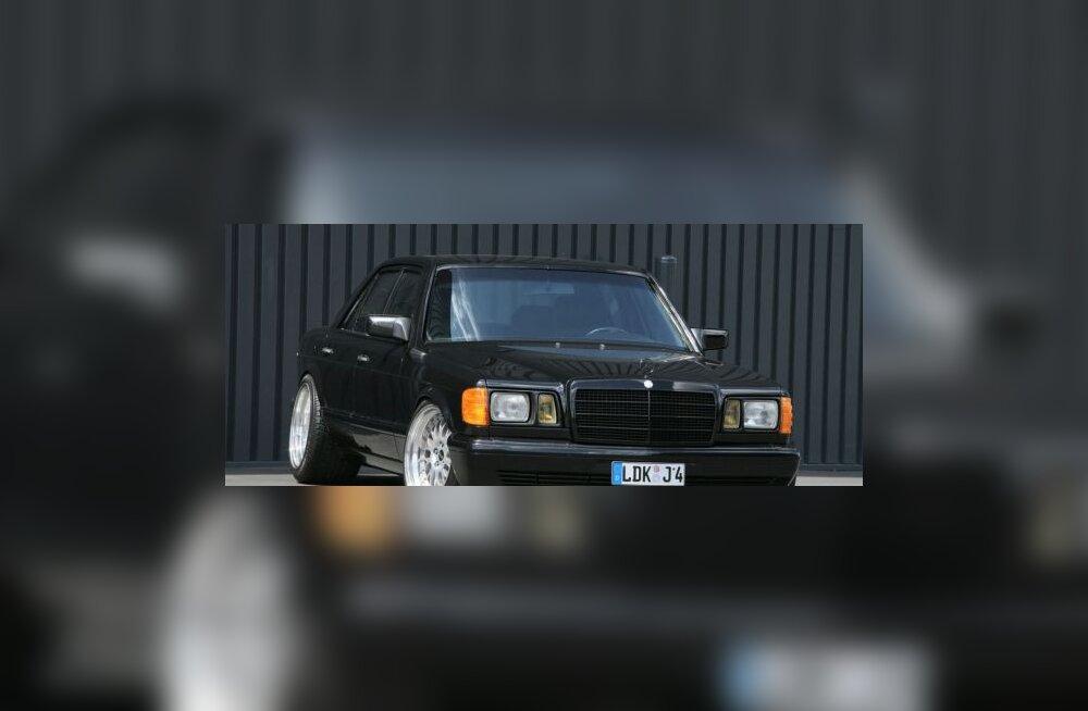 Inden Designi uhke Mercedes tuli taas