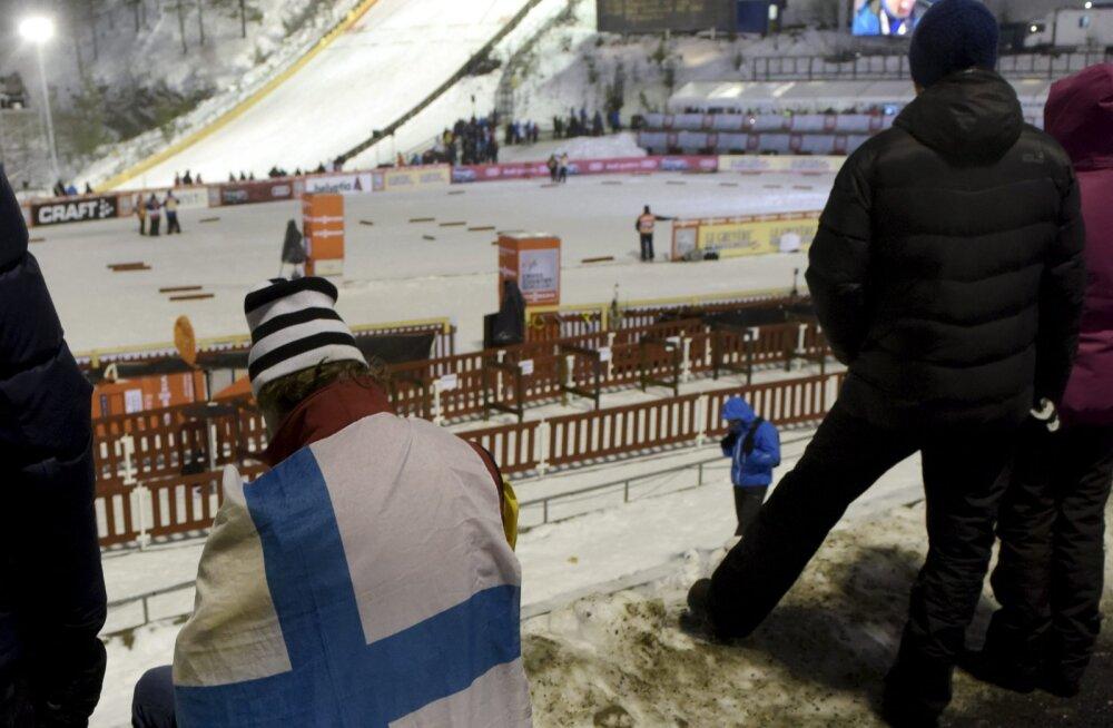 Kahevõistlejad peavad kehvade ilmastikuolude tõttu hooaja algust ootama