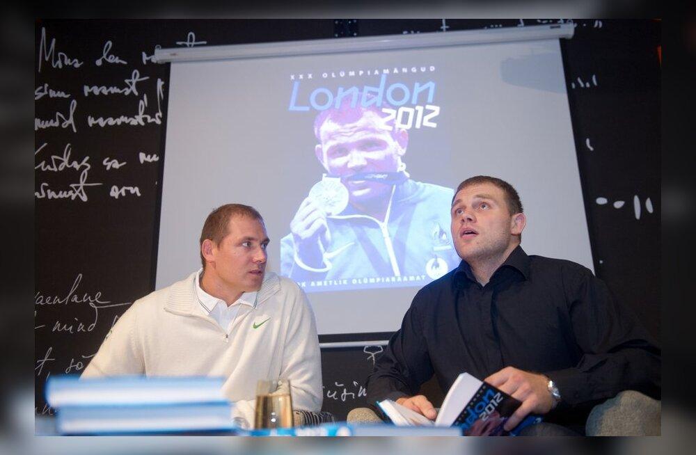 """Kanter ja Nabi. Olümpiaraamatu esitlus """"London 2012"""""""