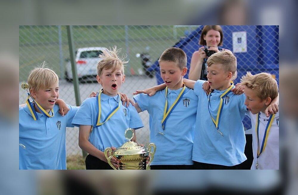 JK Tallinna Kalev võidukad noormängijad
