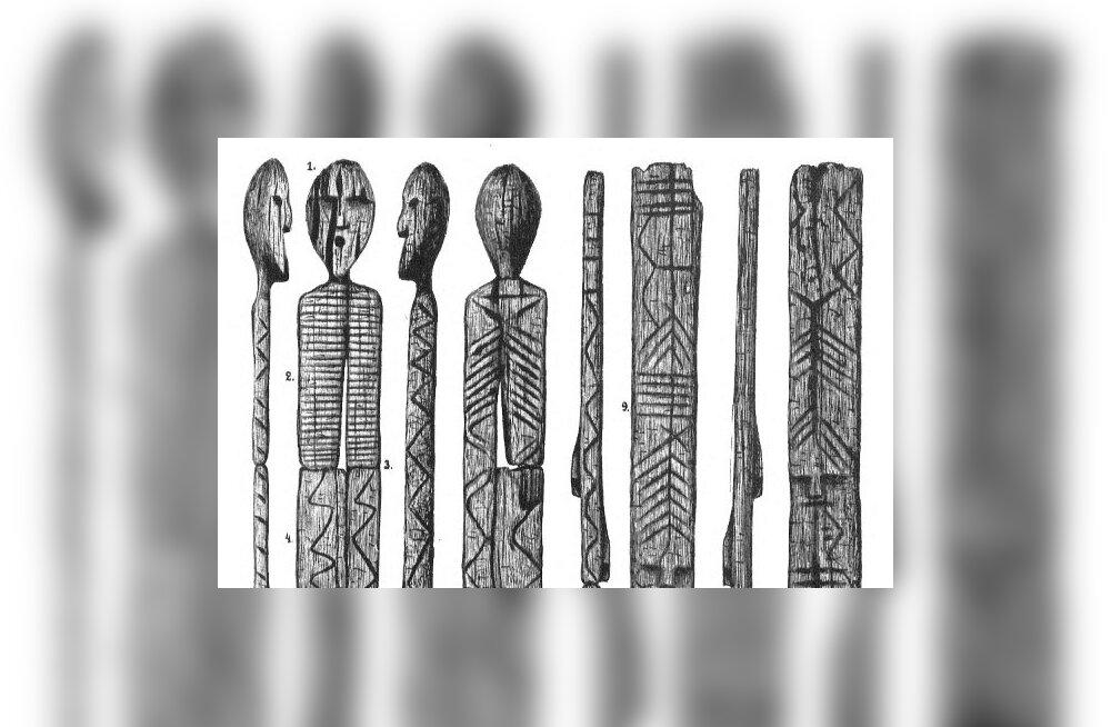 Maailma vanim puuskulptuur võis hoiatada kiviaja metsarahvast deemonite eest