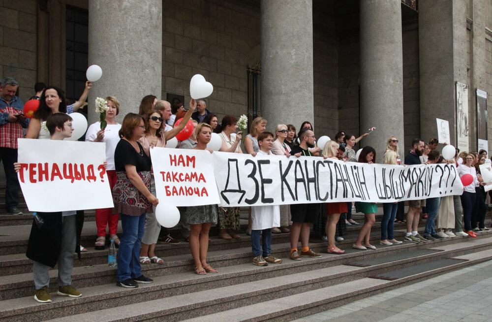 Riikliku kunstimuuseumi töötajad protestisid ning küsisid, kuhu kadus Konstantin Šišmakov. Täna leiti mehe surnukeha.