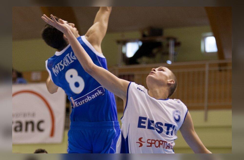 U20 EM korvpall Eesti vs Kreeka