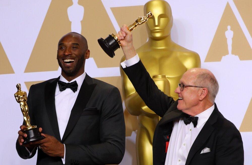 Oscari võitjad Kobe Bryant ja Glen Keane