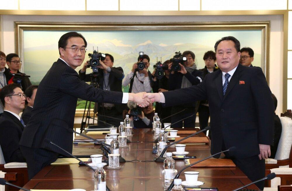 KINDEL! Põhja-Korea sportlased osalevad olümpiamängudel