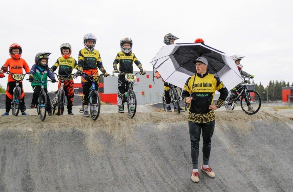 Klavs Lisovskis arvab, et ükskord jõuab Eesti BMX-kross Läti tasemele niikuinii.