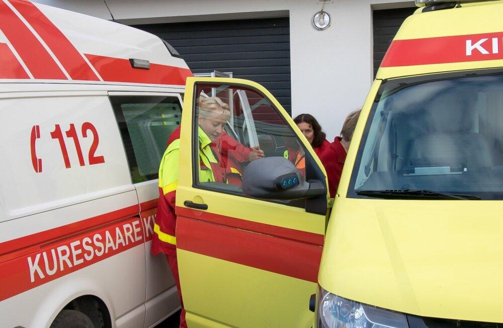 Katastroofiõppus Saaremaal, Kuressaares