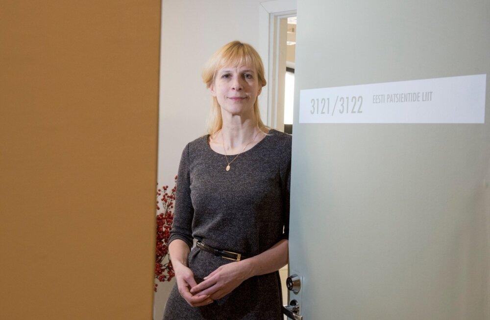 Kadri Tammepuu väitis, et nad ei esindagi Eesti patsiente ega tea, miks sotsiaalministeerium neid kaasanud on.