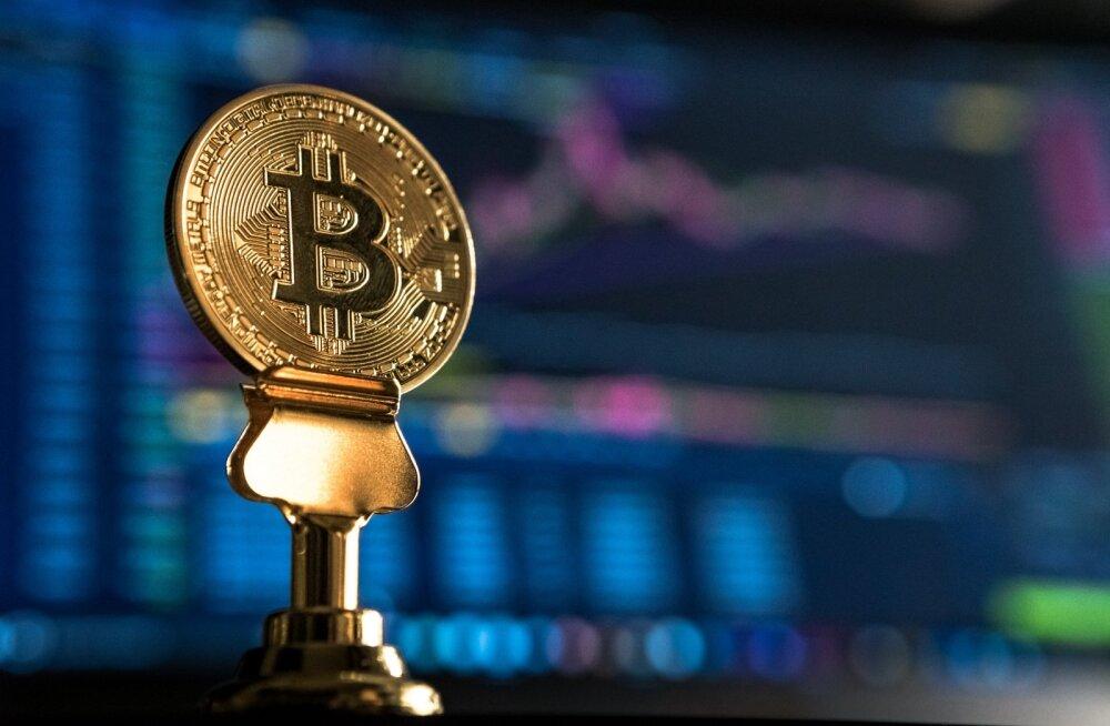 Bitcoini väärtus on 2 nädalaga rohkesti tõusnud