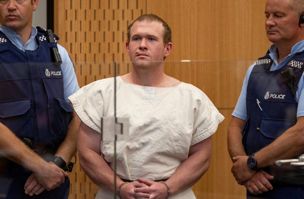 Christchurchi mošeetulistaja Brenton Tarrant ei tunnistanud end üheski kuriteos süüdi