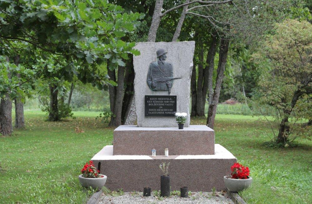 Lihula sammas Lagedi Vabadusvõitluse muuseumis