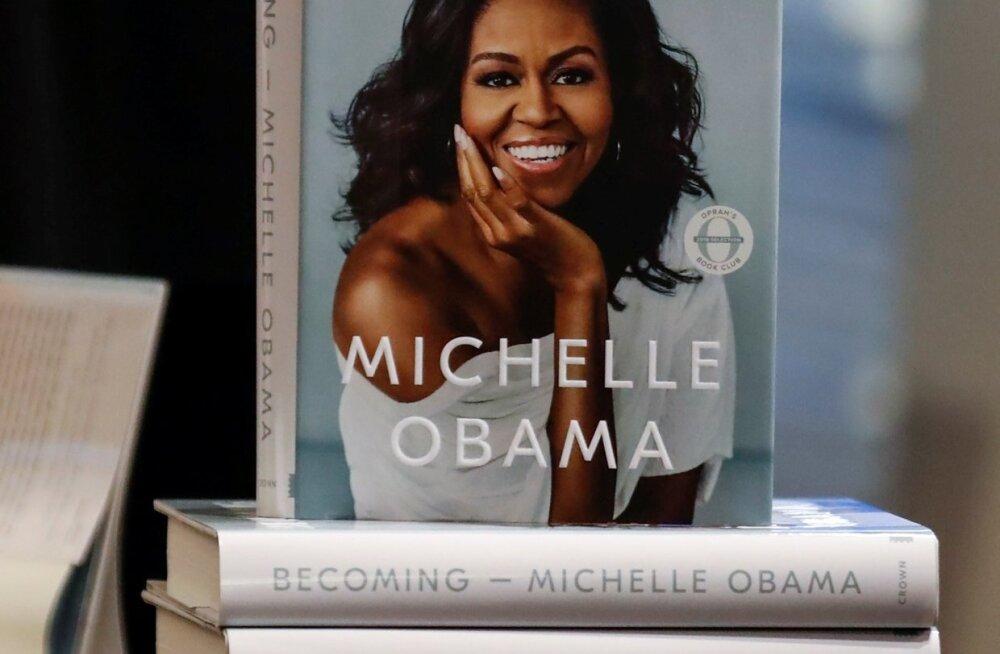 Michelle Obama autobiograafiline mälestusteraamat.