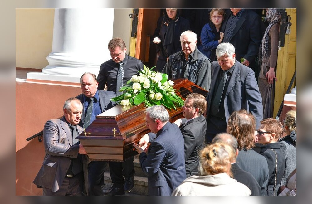 Vladimir Volohonski matused 16 mai 2013