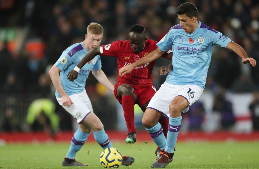 Liverpool vs Manchester City.