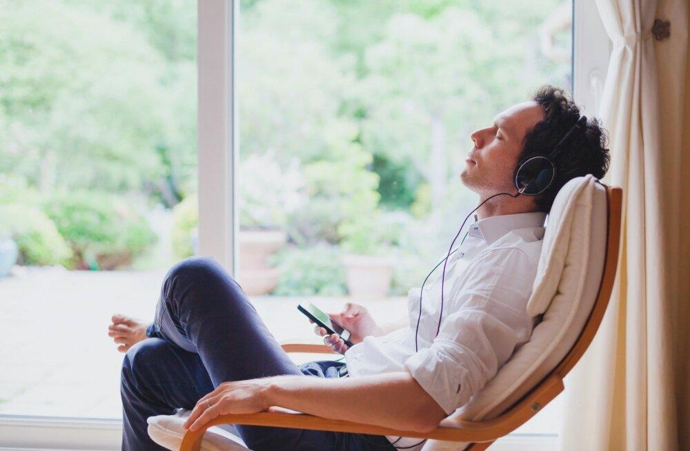 Meeldivad helid aitavad lõõgastuda ja rahuneda.