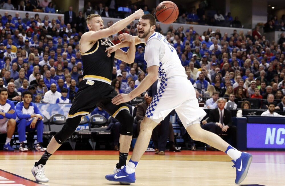 Rauno Nurger mängus Kentucky vastu
