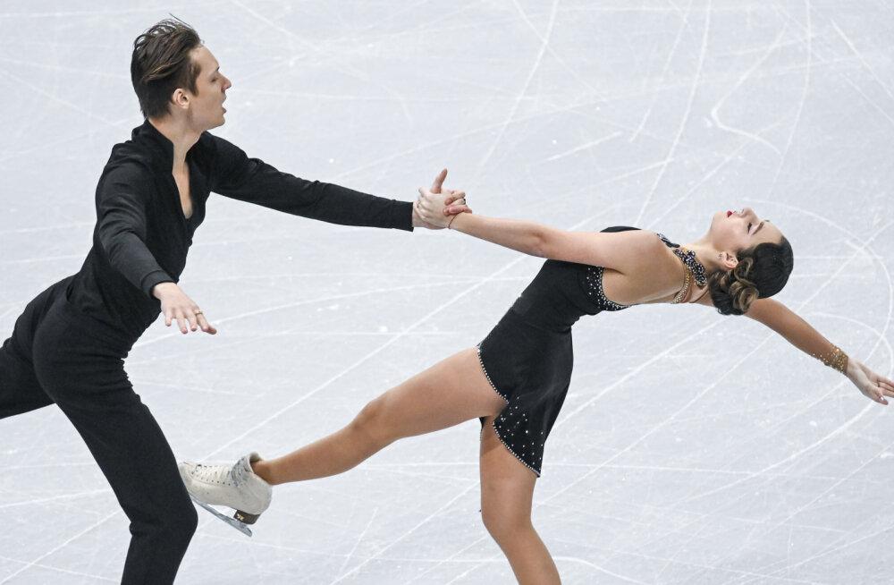 Katerina Bunina ja German Frolov