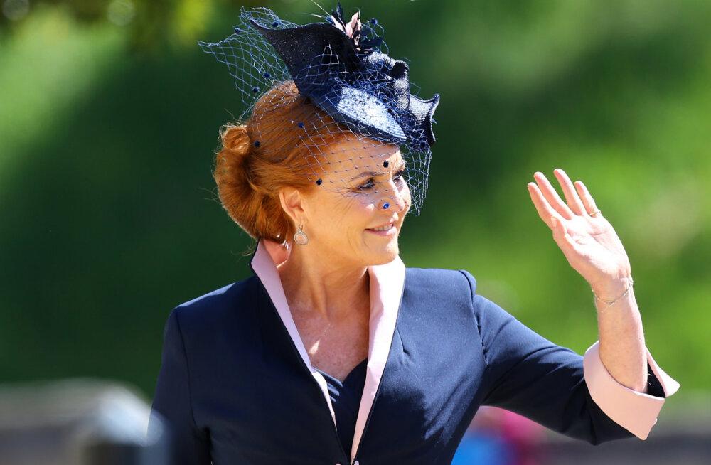 Prints Andrew skandaalne eksabikaasa Fergie kutsuti siiski pulma! Tähendab see uusi pulmi?