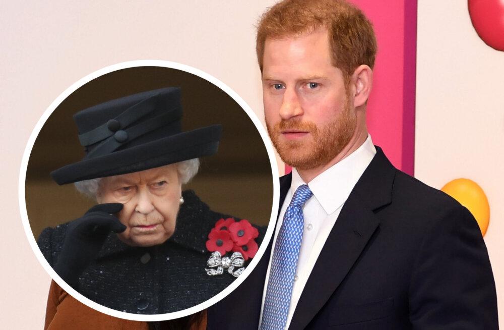 Räpane kuninglik mäng on alanud | Prints Harry ähvardab vanaema kõmulise intervjuuga, kui ta tema ja Meghani nõudmisi ei täida