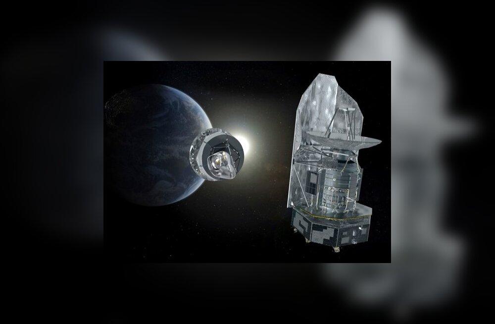 Euroopa Kosmoseagentuuri tehnika kosmoses. Foto AP