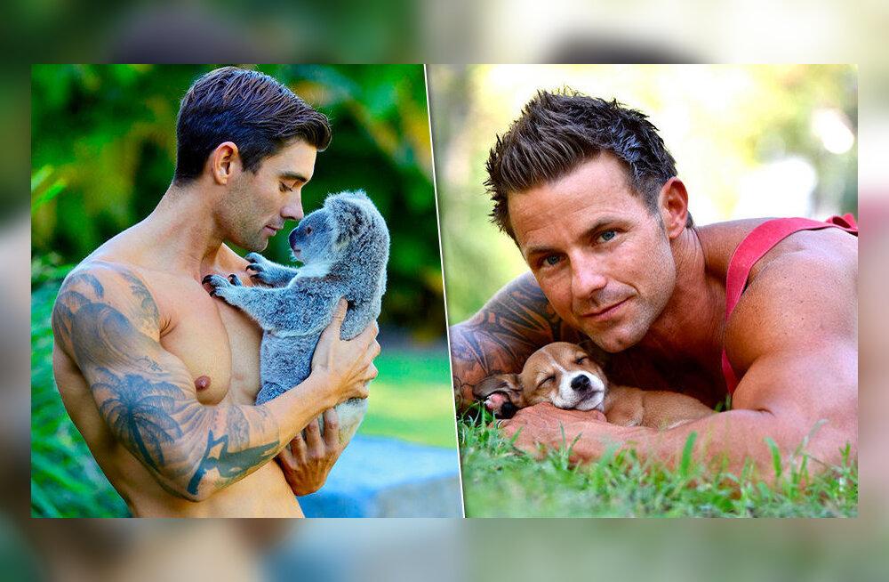 """ФОТО: в Австралии вышел новый выпуск календаря с """"горячими"""" пожарными"""