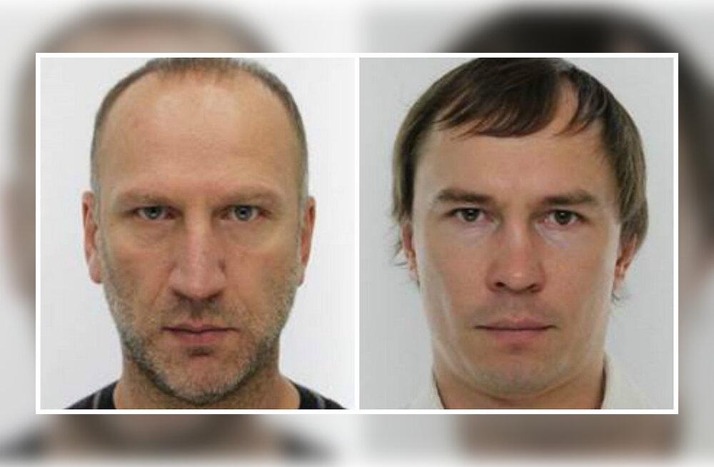 ФОТО: Этих мужчин полиция разыскивает в связи со стрельбой в центре Таллинна